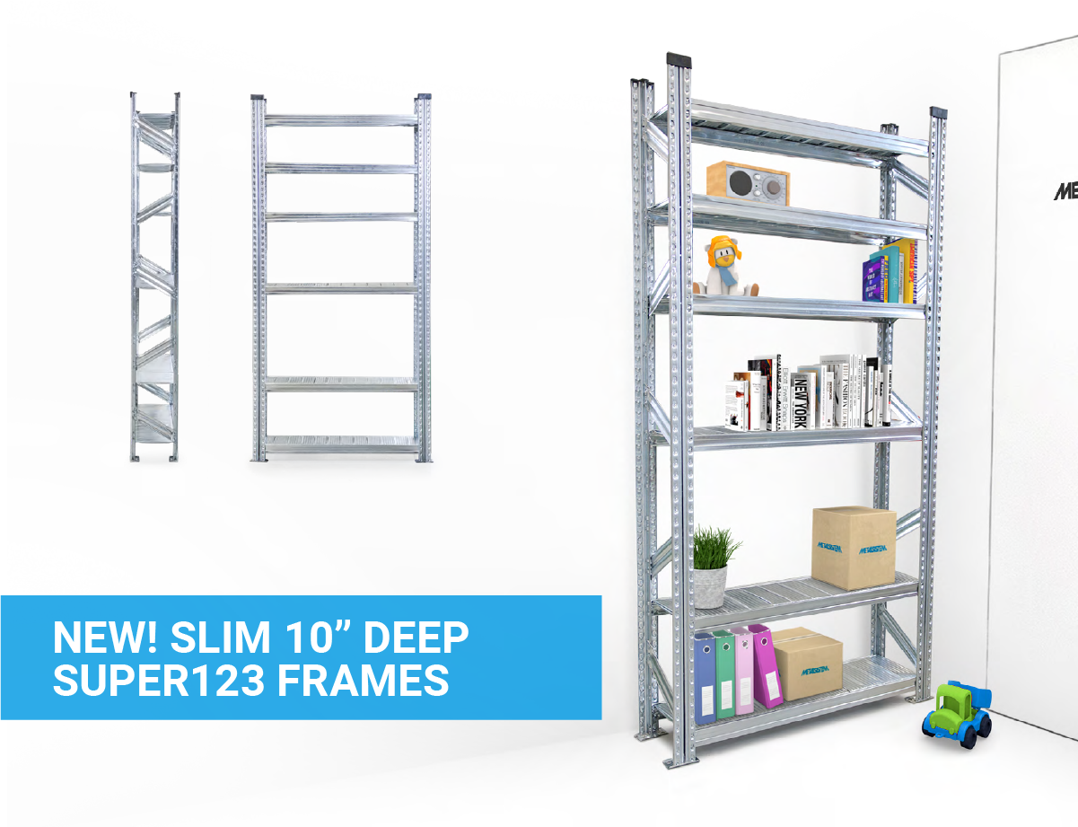 "NEW! Slim 10"" Deep SUPER123 Frames"