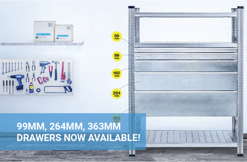 Introducing new modular drawer heights