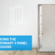 Introducing the revolutionary 3 panel sliding doors